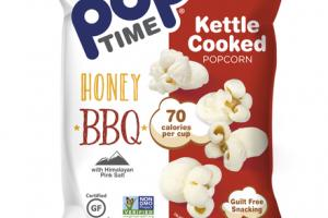 HONEY BBQ WITH HIMALAYAN PINK SALT KETTLE COOKED POPCORN