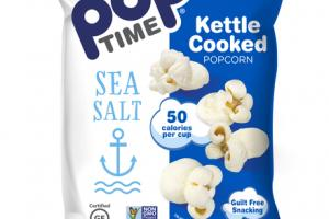 SEA SALT KETTLE COOKED POPCORN