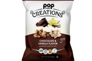 CHOCOLATE & VANILLA FLAVOR GOURMET POPCORN MIX