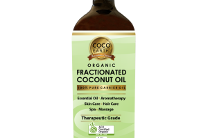 100% PURE CARRIER FRACTIONATED COCONUT OIL