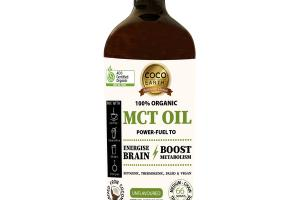 100% ORGANIC MCT OIL DIETARY SUPPLEMENT, UNFLAVOURED