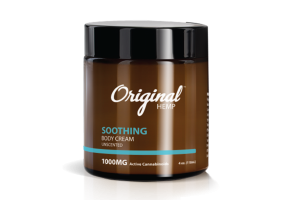 SOOTHING 1000MG ACTIVE CANNABINOIDS BODY CREAM, UNSCENTED