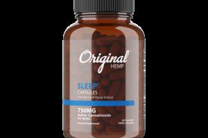 SLEEP FULL SPECTRUM HEMP EXTRACT 25MG ACTIVE CANNABINOIDS DIETARY SUPPLEMENT CAPSULES