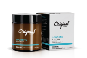 SOOTHING FULL SPECTRUM HEMP EXTRACT 2000 MG ACTIVE CANNABINOIDS PER JAR BODY CREAM, UNSCENTED