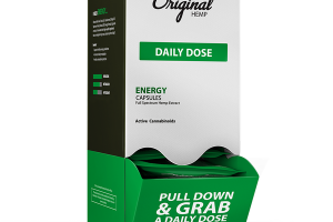 ENERGY DAILY DOSE FULL SPECTRUM HEMP EXTRACT 25 MG ACTIVE CANNABINOIDS DIETARY SUPPLEMENT CAPSULES