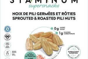 SPROUTED & ROASTED PILI NUTS WITH PINK HIMALAYAN SALT