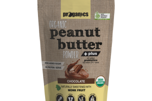 CHOCOLATE ORGANIC PEANUT BUTTER POWDER