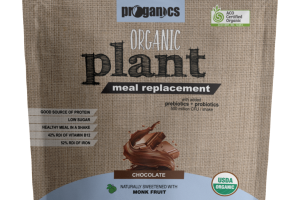 ORGANIC CHOCOLATE PLANT MEAL REPLACEMENT