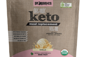 VANILLA KETO MEAL REPLACEMENT SHAKE