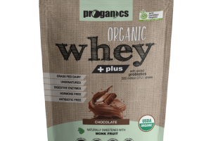 ORGANIC CHOCOLATE WHEY + PLUS SHAKE