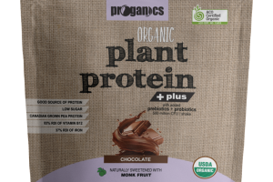 CHOCOLATE ORGANIC PREBIOTICS + PROBIOTICS PLANT PROTEIN SHAKE