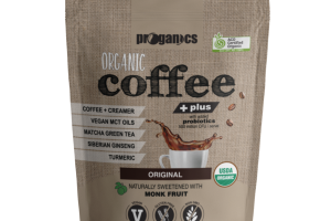 ORIGINAL ORGANIC COFFEE + PLUS WITH ADDED PROBIOTICS