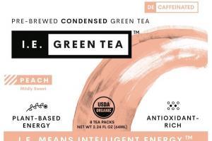 PEACH MILDLY SWEET PRE-BREWED CONDENSED GREEN TEA PACKS