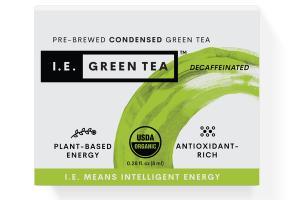 DECAFFEINATED PRE - BREWED CONDENSED GREEN TEA