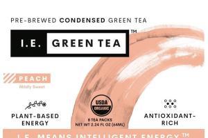 PEACH MILDLY SWEET PRE-BREWED CONDENSED GREEN TEA