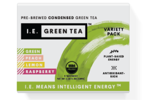 GREEN, PEACH, LEMON, RASPBERRY PRE-BREWED CONDENSED GREEN TEA VARIETY PACK