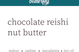 CHOCOLATE REISHI NUT BUTTER