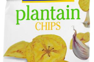 GARLIC PLANTAIN CHIPS