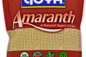 AMARANTH A NATURAL SUPER GRAIN