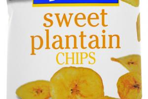 UNSALTED MADUROS SWEET PLANTAIN CHIPS