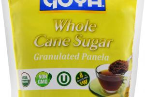 WHOLE CANE SUGAR GRANULATED PANELA