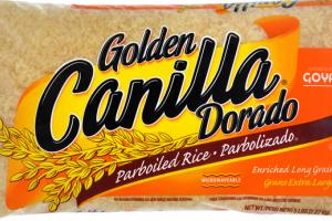 GOLDEN CANILLA DORADO PARBOILED RICE