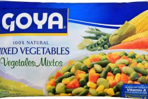 100% NATURAL MIXED VEGETABLES
