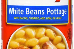 WHITE BEANS POTTAGE
