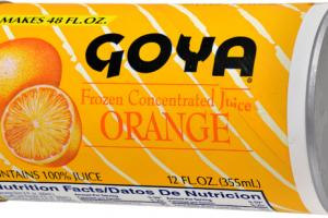 ORANGE FROZEN CONCENTRATED JUICE