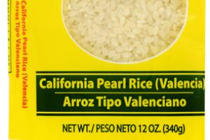 CALIFORNIA PEARL RICE (VALENCIA)