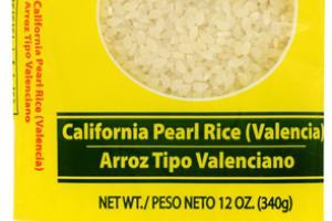 CALIFORNIA PEARL RICE (VALENCIA)