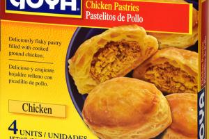 CHICKEN PASTRIES