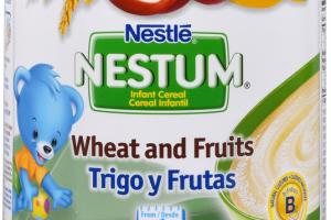 WHEAT AND FRUITS INFANT CEREAL