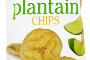 LIME PLANTAIN CHIPS
