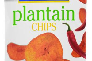 HOT & SPICY PLANTAIN CHIPS