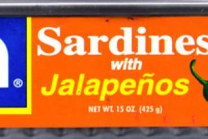 SARDINES WITH JALAPENOS