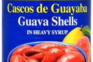 GUAVA SHELLS IN HEAVY SYRUP
