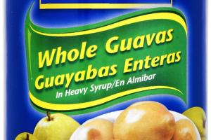 WHOLE GUAVAS IN HEAVY SYRUP
