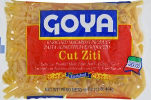 ENRICHED MACARONI PRODUCT, CUT ZITI