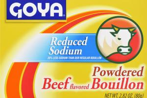 BEEF FLAVORED POWDERED BOUILLON