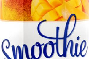 MANGO FRUIT JUICE BLEND WITH MANGO, BANANA AND APPLE PUREE SMOOTHIE