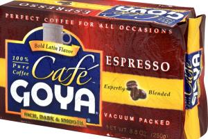 RICH, DARK & SMOOTH ESPRESSO 100% PURE COFFEE