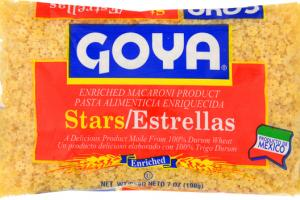 ENRICHED MACARONI PRODUCT, STARS