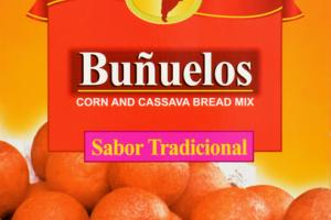 AUTHENTIC COLOMBIAN FLAVOR CORN AND CASSAVA BREAD MIX BUNUELOS