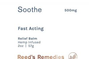 500MG HEMP INFUSED FAST ACTING SOOTHE RELIEF BALM