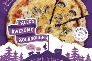 THOUGHTFULLY SOURCED MUSHROOM ARTISAN ORGANIC PIZZA