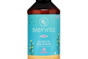 ALGAE-OIL DHA & MULTI KIDS DIETARY SUPPLEMENT, RASPBERRY