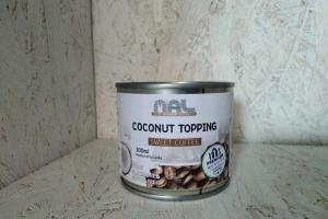 SWEET COFFEE COCONUT TOPPING
