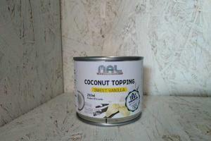 SWEET VANILLA COCONUT TOPPING