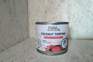 SWEET STRAWBERRY COCONUT TOPPING